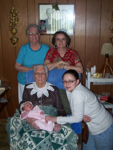 5 Generations of Women.