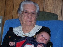 With her 1st Great Great Grandson
