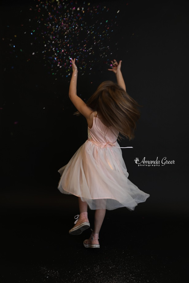 Amanda Greer Photography Ripley WV Photography Studio Charleston WV Photographer Glitter Session WV Childrens Photographer 1