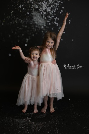 Amanda Greer Photography Ripley WV Photography Studio Charleston WV Photographer Glitter Session WV Childrens Photographer 11