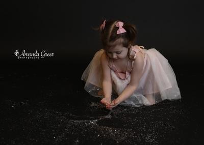 Amanda Greer Photography Ripley WV Photography Studio Charleston WV Photographer Glitter Session WV Childrens Photographer 16