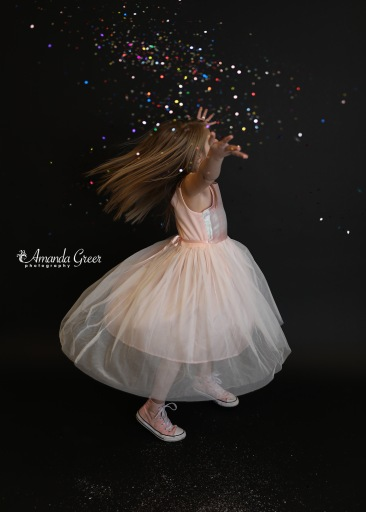 Amanda Greer Photography Ripley WV Photography Studio Charleston WV Photographer Glitter Session WV Childrens Photographer 8