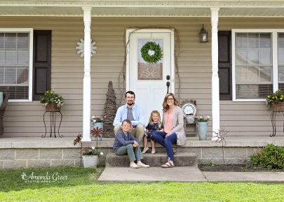 Amanda Greer Photography Ripley WV Photography Studio Charleston WV Photographer WV Family Photographer WV Front Porch Sessions 1