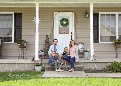 Amanda Greer Photography Ripley WV Photography Studio Charleston WV Photographer WV Family Photographer WV Front Porch Sessions 1